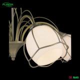 Illuminazione dell'interno del lampadario a bracci con la tonalità di vetro, indicatori luminosi decorativi