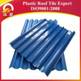 Hoja plástica anticorrosión de la azotea de la capa UPVC del edificio Material/3 de la hoja del material para techos del PVC de la capa de /One de la hoja de la azotea del PVC