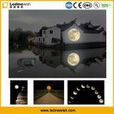Напольный статический свет проекции Gobo луны 150W