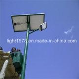 5 ans de lumières solaires de garantie en Afrique