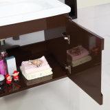 24 '' unidades montadas en la pared impermeables pintadas café express de la cabina de cuarto de baño