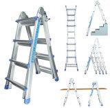 Het Aluminium van uitstekende kwaliteit 4X3 Weinig Reuze van de Ladder En131- Certificaat