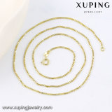 42982 Form Popular 14k Gold Plated Chain Jewelry Necklace in Metal Alloy