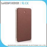 Alta batería móvil portable de la potencia del cable de la capacidad 8000mAh