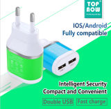 Cargador universal de la pared del adaptador de la potencia del USB de 5V 2A para el iPhone 5/6s/7 Samsung S6