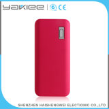 Batería impermeable de la potencia del USB del cuero para el teléfono móvil