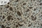 Tela de matéria têxtil feita malha tela feita malha da impressão de veludo