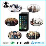 反スパイのiPhoneのためののぞくプライバシーの緩和されたガラススクリーンの保護装置