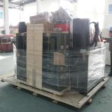 La alimentación de doble cara de PVC hidráulica Máquina de corte