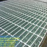 Los paneles de rejilla de acero galvanizado de piso paseo