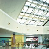 Prix usine en aluminium de plafond de panneau de mur rideau de mur de revêtement de fléau de plafond ignifuge en aluminium en métal