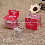 Plástico de China de la oferta de diseño personalizado de plástico plegable caja de embalaje