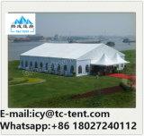 Ausgezeichnete konzipierte hohe Spitzen-Festzelt Belüftung-Partei-Hochzeits-Zelt-Kombination