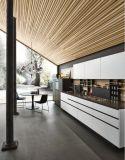 円形の整形実質の木製の台所棒キャビネット