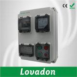 Guichet de pièce jointe de disjoncteur/boîte de jonction électrique imperméable à l'eau en plastique transparente du capot IP67 de guichet de protection de contact