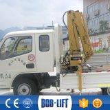 Repliage de la rampe d'un Mini grue pour camionnette SQ1ZA2