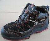 Ufb004カウボーイのStylsihの上昇のブートの鋼鉄つま先の安全靴