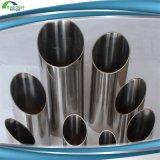 Tubo saldato inossidabile spazzolato dell'acciaio inossidabile di diametro 304
