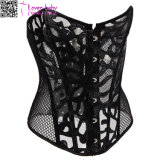 2017 New Black Fishnet Sexy Lace Corset L42712-1