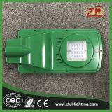 luz de rua psta solar do diodo emissor de luz da energia do brilho 20W elevado
