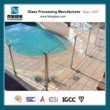 загородка плавательного бассеина 10mm стеклянная с AS/NZS2206: 1996 для плавательного бассеина