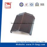 280*400 мм конструкция с возможностью горячей замены кровли Китая здание Meterail глиняные плоской кровельной плитки на заводе поставщика Гуандун
