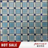 Голубые плитки мозаики украшения бассеина, мозаика для цены плавательного бассеина
