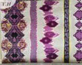 Tessuto variopinto del velluto della stampa per mobilia ed il sofà