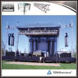Da fábrica do estágio de alumínio do frame das vendas diretamente estágio ao ar livre do móbil do estágio do concerto