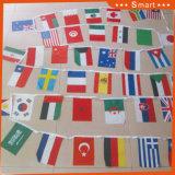 屋外の表示および文化コミュニケーションのための世界的な国旗