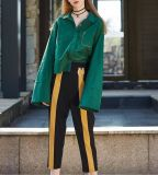 Vert profond Spring Fashion manchon desserré Mesdames chemise