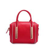 2016 Herbst-preiswerter Form-Kontrast-Farben-Boston-Schulter-Beutel-Frauen-Handtaschen-Großverkauf