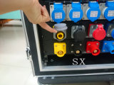 24 canales 16A impermeabilizan la potencia Distro con la fase 3 adentro