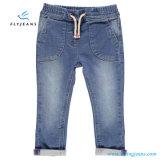 Jeans con elastico Relaxed del denim delle ragazze di modo dai jeans della mosca