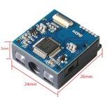 Módulo de scanner de código de barras pequeno Black Stock 1d USB CCD pequeno em scanners