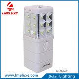 휴대용 재충전용 DC 긴급 LED 태양 빛