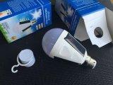 작은 태양 전지판을%s 가진 고품질 저가 재충전용 태양 LED 전구