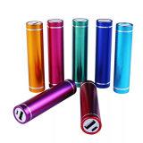Personalizada metal Cilindro respaldo de batería / banco móvil