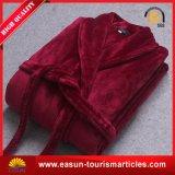 最上質のショールカラーフランネルの羊毛の浴衣