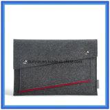 """단순한 설계 Eco-Friendly Portable 3mm 모직 펠트 휴대용 퍼스널 컴퓨터 부대, 13를 위한 주문을 받아서 만들어진 휴대용 퍼스널 컴퓨터 소매 서류 가방 """" 휴대용 퍼스널 컴퓨터"""