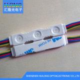 Nuevo módulo impermeable de DC12V RGB LED con multicolor
