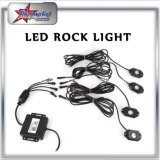 Luz de Rock LED Multi-Color pelo comando Bluetooth 4/6/8/12 Kit sachês
