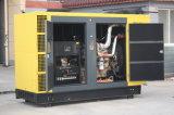 Звукоизоляционное, Water-Cooled тепловозное безмолвие Genset альтернатора генератора