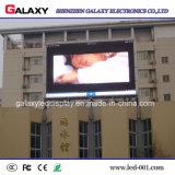 P4/P6/P8/P10/P16 video schermo di visualizzazione anteriore fisso esterno della parete di manutenzione LED