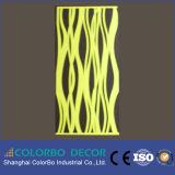 Comitati acustici intagliati della fibra di poliestere del materiale da costruzione