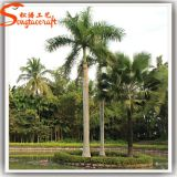 Verre de fibre décoratif en plein air Arbre à base de coco artificiel