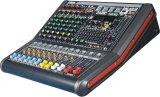 Misturador audio profissional de mistura do console de 16 canaletas