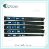 "19 "" acoplador óptico de fibra del montaje de estante 1X2/divisor (RoHS)"