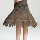 Lado Vintage Crochê Noite saia da parte da tarde Vestuário Vestuário moda praia