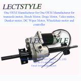 Regolatore a magnete permanente di velocità del motore sul motore spazzolato del Transaxle e sul motore della spazzatrice